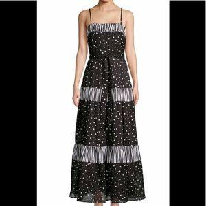 NWT, Kate Spade Daisy Dot Mixed Media Dress